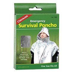 COGHLANDS EMERGENCY SURVIVAL PONCHO