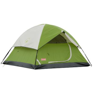 COLEMAN SUNDOME TENT 2P (GREEN/WHITE)