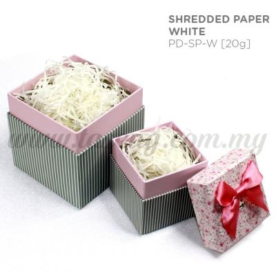 20g Shredded Paper *White (PD-SP-W)