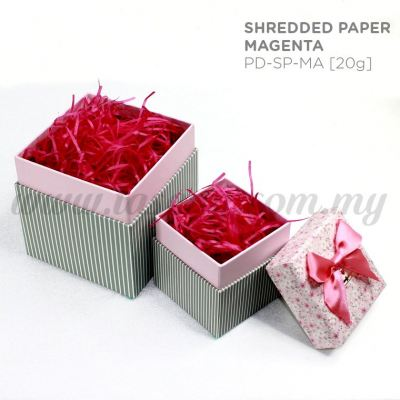 20g Shredded Paper *Magenta (PD-SP-MA)