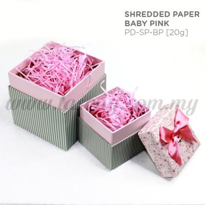 20g Shredded Paper *Baby Pink (PD-SP-BP)