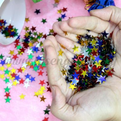 10gram Confetti *Star - Mix Colour (AC-CFT-S02)