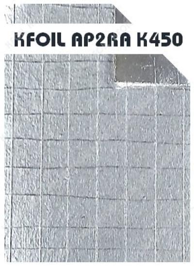 (AP2RA K450) Fire Retardant Double Sided 8 Layers Reflective Aluminium Paper Foil, 8x8 Fiberglass Scrim Reinforced [BS476 Part 6&7]