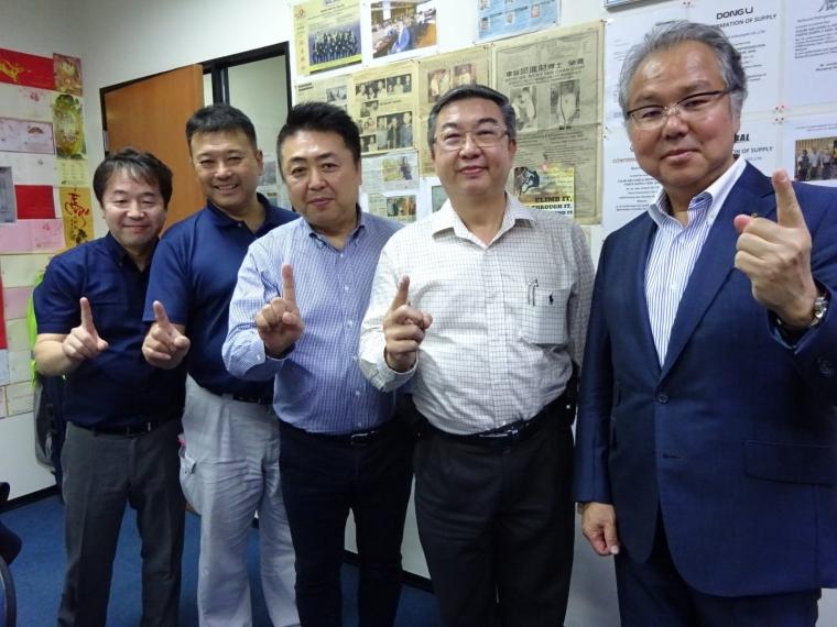 ICHINEN TASCO CO.,LTD. Top Management Team From Japan Visit To Culmi On 30-11-18