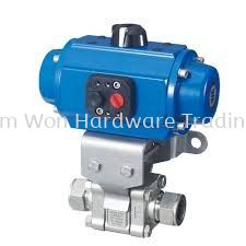 AUTOMATED 3 PC BODY BALL VALVES (ACTUATOR TYPE)