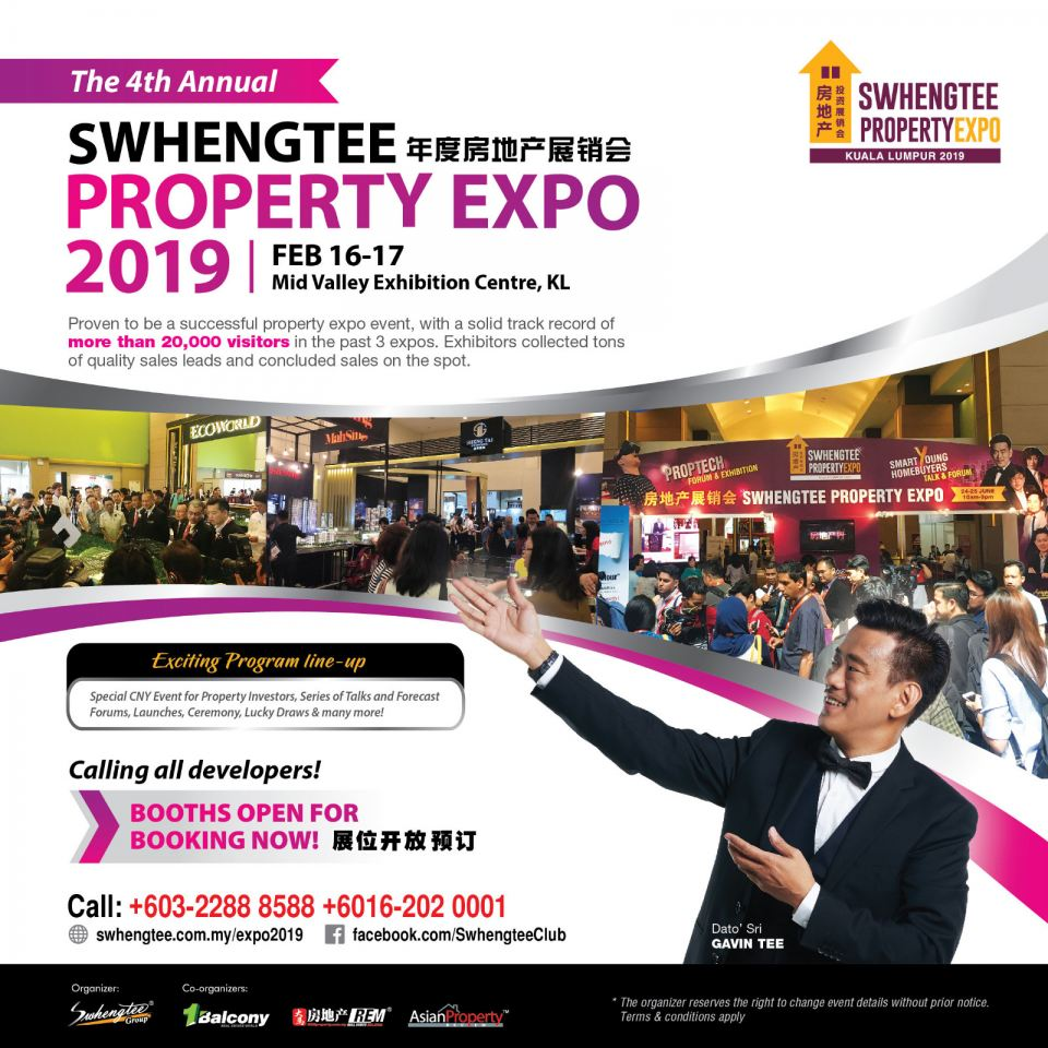 Swhengtee Property Expo 2019 February 2019