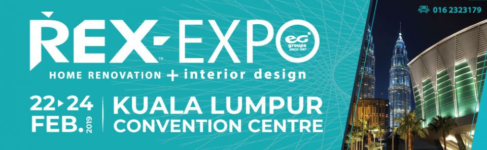REX 2019 (Part 1) �C Malaysia International Home Renovation Expo February 2019
