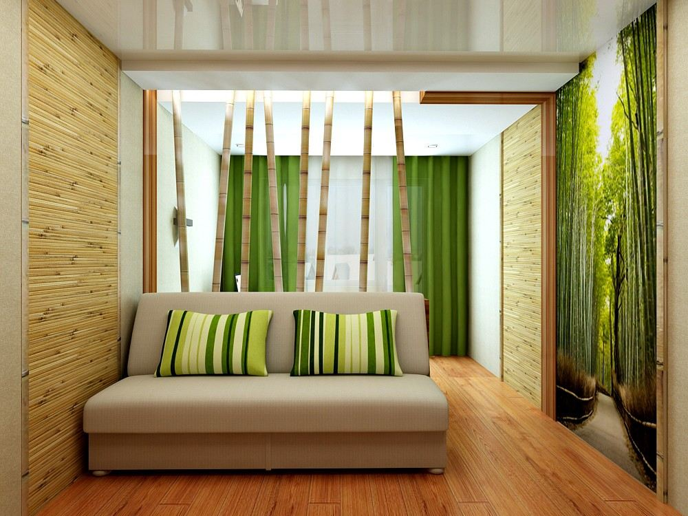 Green Style Bedroom Design  Bathroom 3D Design Drawing