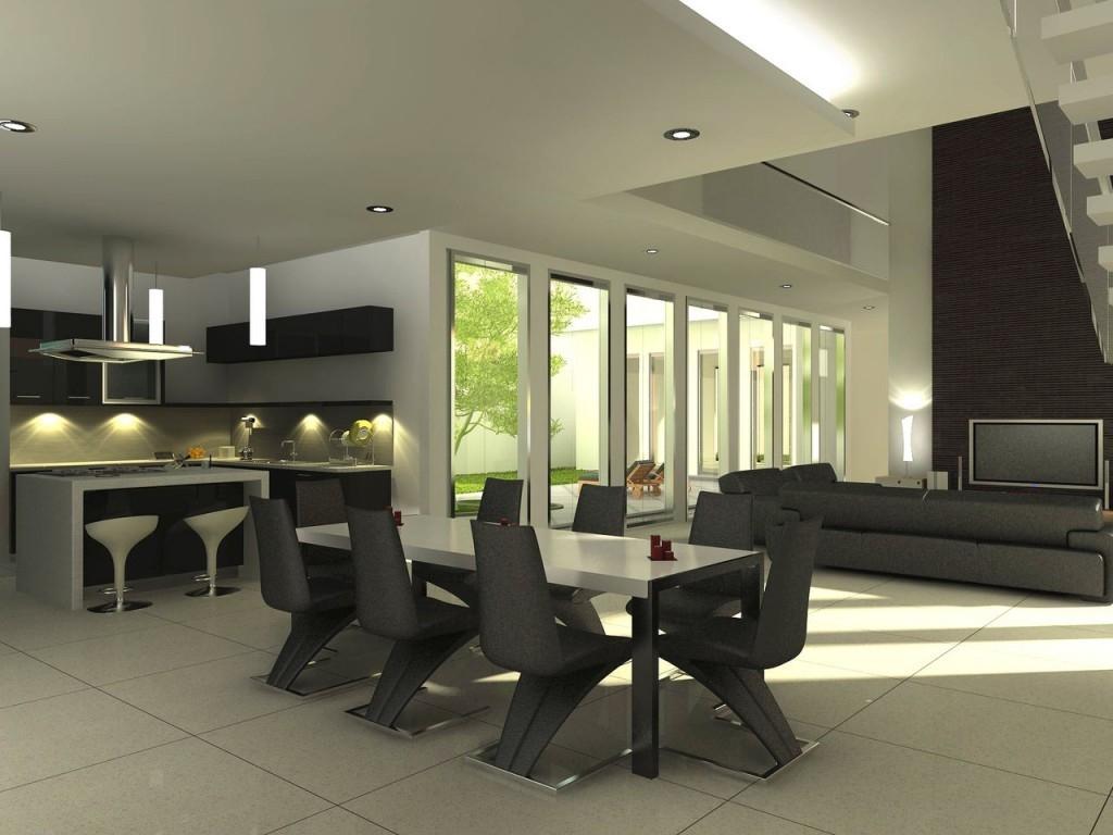 饭厅3D设计图 饭厅 3D设计图