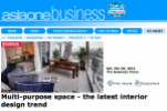 May 2011-THE BUSINESS TIMES - Multipurpose Space: The Latest Interior Design Trend