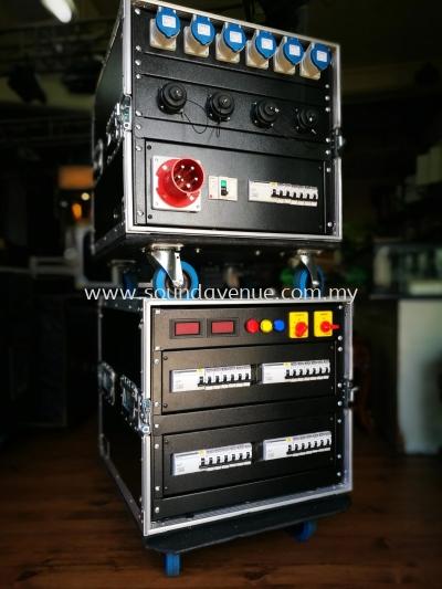 63A/240v WITH 19PIN SOCKET POWER DISTRIBUTION BOX