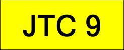 JTC9 VVIP Plate