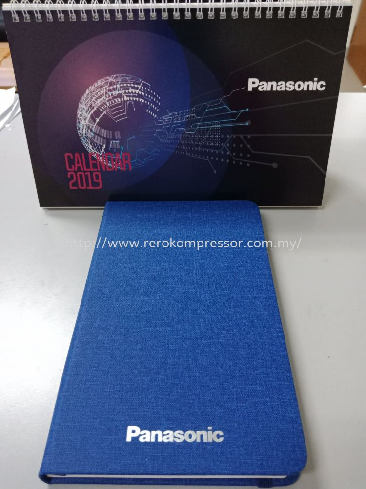 Thanks To Panasonic for the 2019 Calendar and Diary