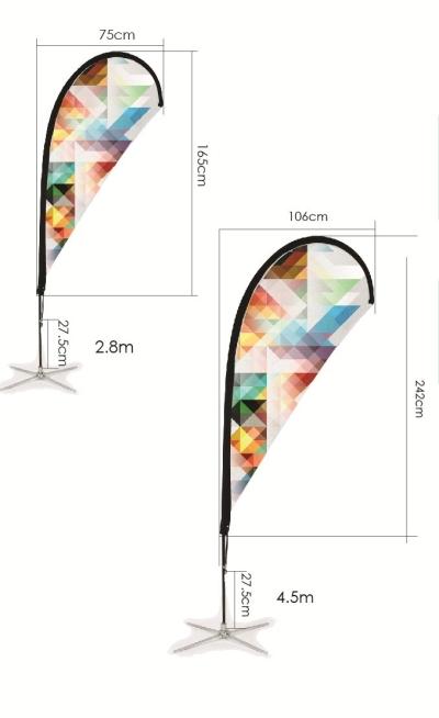 Flying Banner (Teardrop)