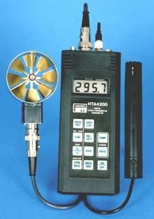 HTA4200 - Hygro-Thermometer Anemometer with Datalogger