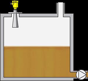 Level measurement in fuel oil storage tanks