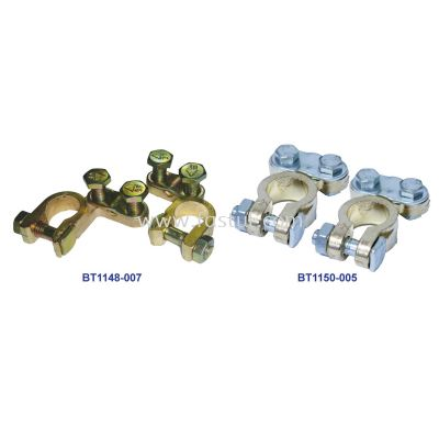 BRASS BATTERY CLAMP (SET)