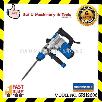 SEMPROX SRH2606 2-Function Rotary Hammer 28mm 900W