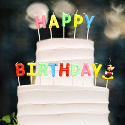 Happy Birthday Set Candle (CDL-HB-MK)