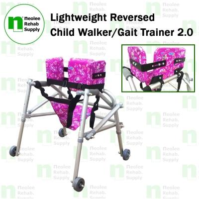 NL9122L-A Lightweight Reversed Child Walker/Gait Trainer 2.0
