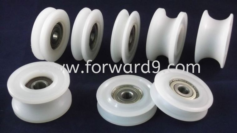 Nylon Pulley Wheel Nylon Polymer ( PU / Rubber etc )