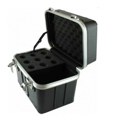 ABS Flightcase for 9 pcs Microphone