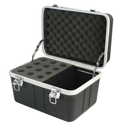 ABS Flightcase for 12 pcs Microphone