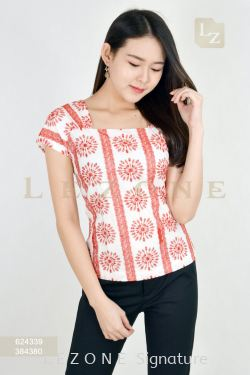 624339 EMBROIDERED BLOUSE【BUY 2 FREE 3】