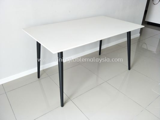 Quartz Stone Dining Table - Alpine