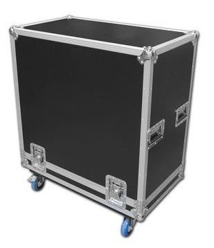 Flightcase For One Unit Double Subwoofer with Wheel