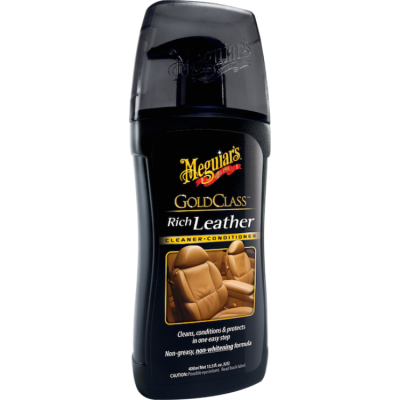 Meguiar's® Gold Class™ Rich Leather Cleaner & Conditioner