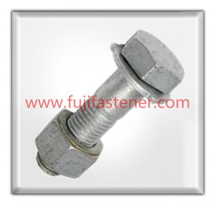 Hot-dipped Galvanized Bolt & Nut