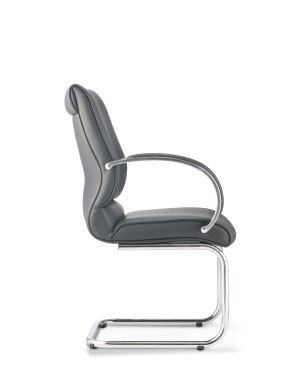 KL5613L-90CS58 Visitor / Conference Chair With Arm