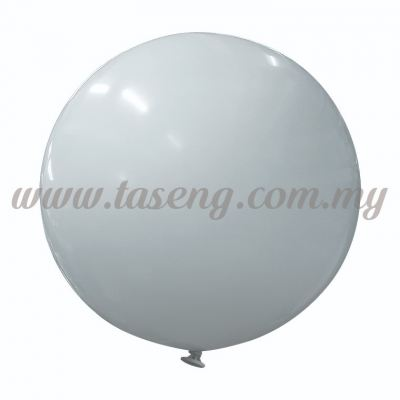 36inch Metallic Round Balloon - Silver (B-36MR-M1)