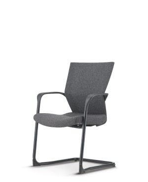 MX8113F-88EA69 Visitor / Conference Chair With Arm