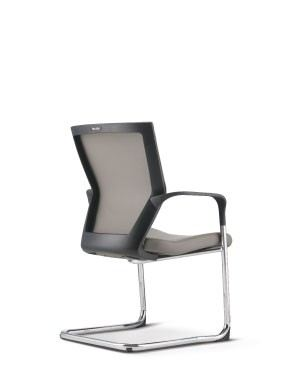 MX8113P-88CA69 Visitor / Conference Chair With Arm