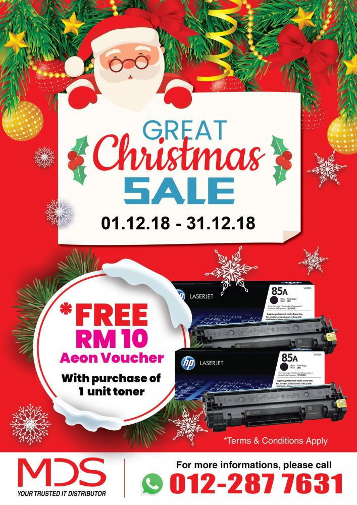Christmas 2018 Promotion
