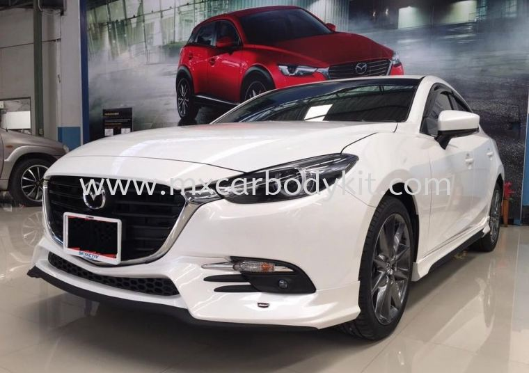MAZDA 3 SEDAN 2017 NEW J BODYKIT 3 SEDAN MAZDA