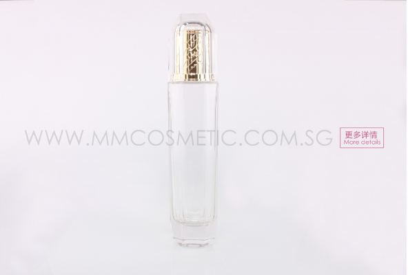 Diamond Glass Stopper Bottle