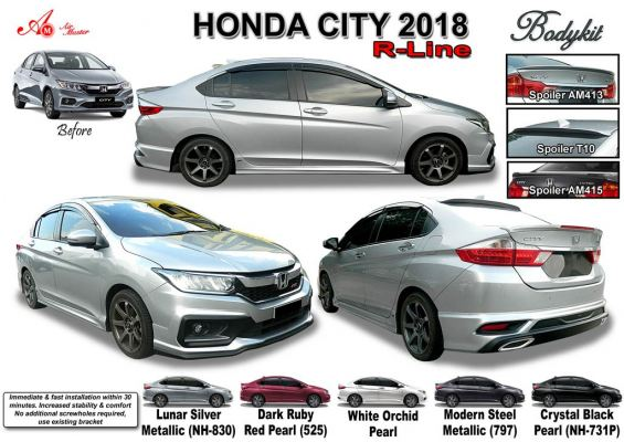 city 2018 R-line AM bodykit