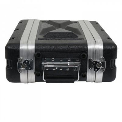 ABS Microphone Flight Case - 2US (8 inch depth)