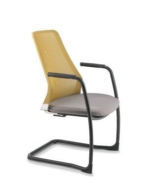 PC8613N-89EA Visitor / Conference Chair With Arm