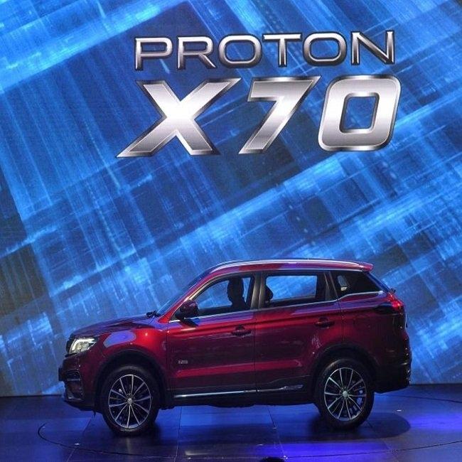 Dr M launches new Proton X70 SUV M'sia News