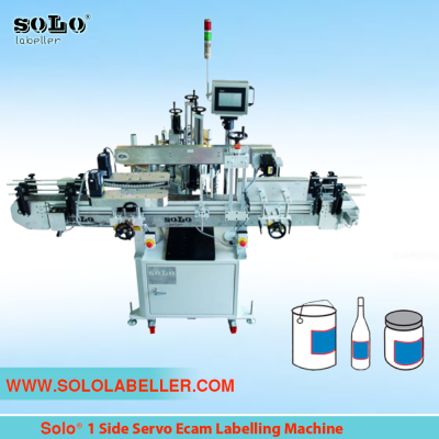 One(1) Side Servo Ecam Labelling Machine (Customized)