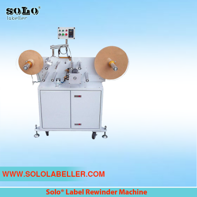 Label Rewinding Labelling Machine