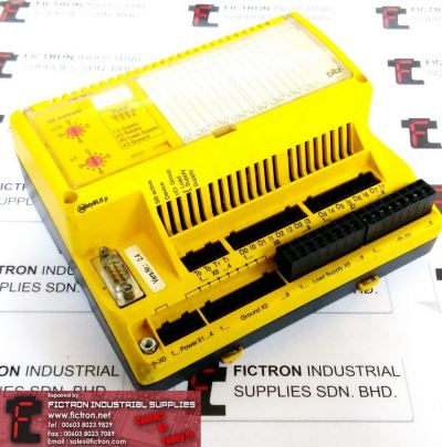 PSS SB DI8O8 RADWELL SAFETY INPUT MODULE 301140182067 8 DIGITAL OUTPUT REPAIR IN MALAYSIA 1Yr WARRANTY
