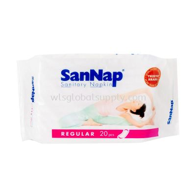 SanNap Sanitary Napkin (Regular) 20's