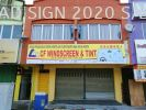 Signboard without Light (Polycarbonate Board) [WINDSCREEN] Signboard Maker 0167110278 3D box up LED