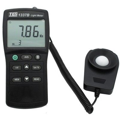 TES-1337B Lux Intensity Meter