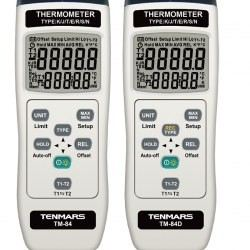Digital Thermometer with Dual Input (Data Logger)